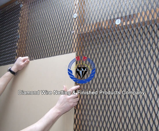 Expanded Metal Lath Wall Plaster Mesh Reinforced Metal