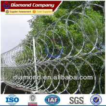 galvanized steel barbed wire tape