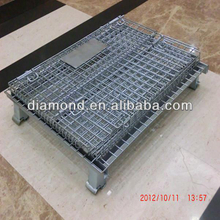 ISO top quality wholesale steel storage cages, storage cage rack,metal storage cage,folding steel storage cage,