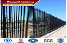 galvanized for steel fence,prefabricated steel fence