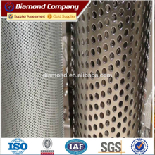 Factory supply with best quality small perforted metal mesh/folded / flat panels