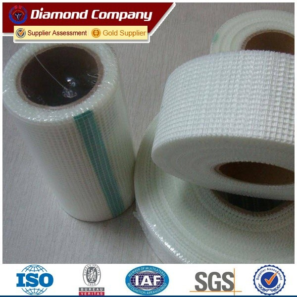 9m length fiberglass mesh tape/fiberglass measuring tape
