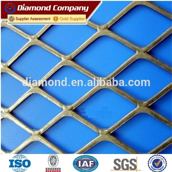 2mm thick galvanized expanded metal mesh / expanded metal mesh manufacture