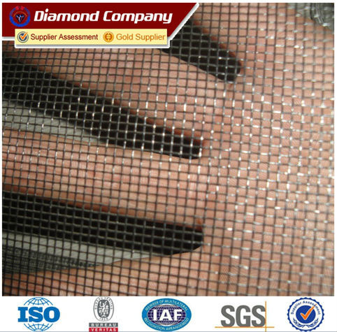 Factory price of fire resistant fiberglass window screen mesh