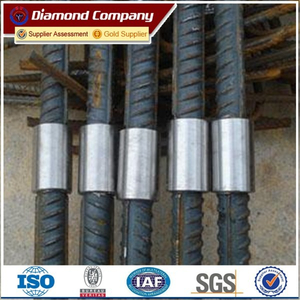hot sale reinforcing steel rebar price / rebar splicing coupler factory