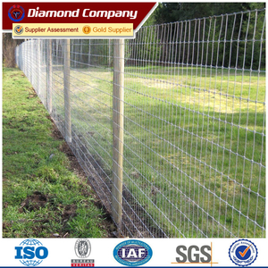 high tensile steel 2m high deer fence price per roll