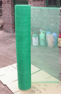 Fiberglass mesh Fabric on wall (manufacture)