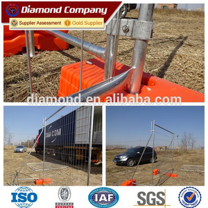 Outdoor temporary fence/used temporary fence/construction temporary fence