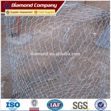 Gabion wire mesh factory (ISO 9001)/anping hexagonal mesh gabion box/ welded gabion box/gabion box stone cage