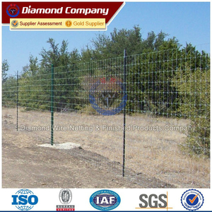 bottom price electro galvanized field fence