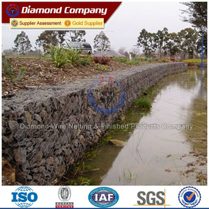 2x1x1m Galfan or PVC Coated Gabion Box With Best Price Used in River Bank Protection