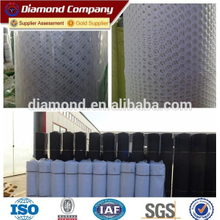 Tree protection of hdpe white plain plastic mesh netting