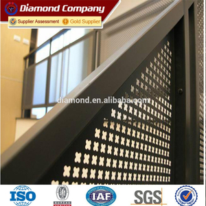 Promotion!!!perforated metal mesh from Anping direct factory/stainless steel perforated metal mesh