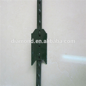 Galvanized HD T Post with Plate - 6 ft 1.25 lb