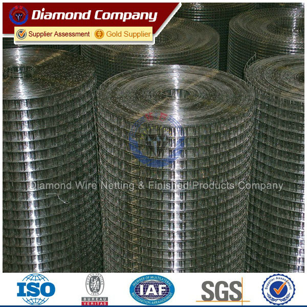galvanized welded wire mesh factory