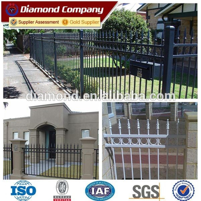 Factory Trade Assurance 5ft height decorative used wrought iron fencing