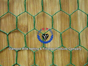 PVC Coated hexagonal fishing net wire