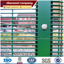 High security anti-climb anti-cut fence,military protection prison welded mesh fence panel,358 high security anti-climb fence