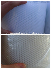 HDPE exturded plain White plastic mesh