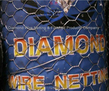 Diamond brand GI hexagonal mesh (factory)