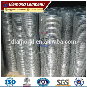 Hot galvanized welded wire mesh factory