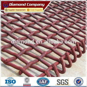 high quantity mining screen mesh price / sand screen mesh factory