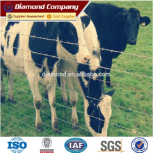 Hot dipped galvanized Cattle fence/field fence/grassland fence,galvanized temporary fencing,temporary livestock fence