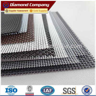 Stainless Steel Privacy Window Screen Diamond Mesh