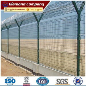 double loop welded wire fence