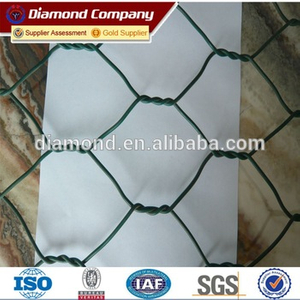 Galvanized Heavy Twisted Hexagonal wire netting for chick fence Factory