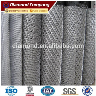 Carbon Steel Expanded Metal Mesh / high quality expanded metal mesh