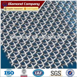 high tensile quarry stone screen mesh / crusher screen mesh factory