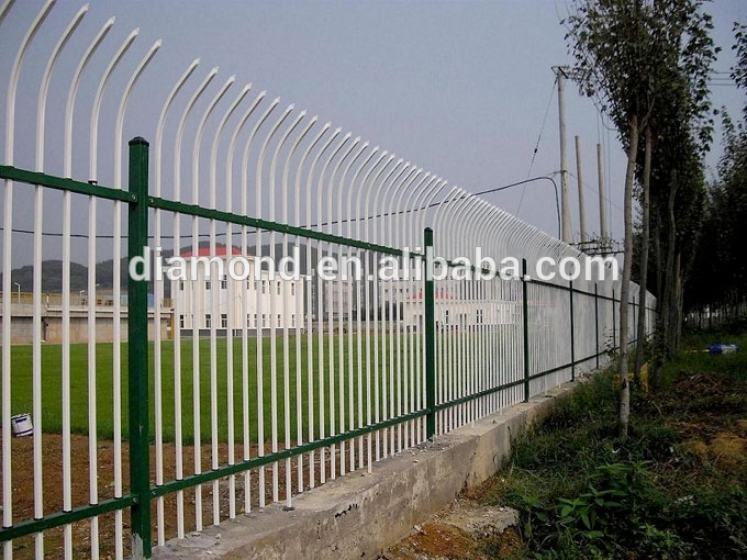 Residential Used wrought iron fence/wrought fence designs