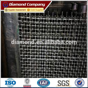 65Mn woven wire cloth crimped wire mesh / sieving wire mesh with best price
