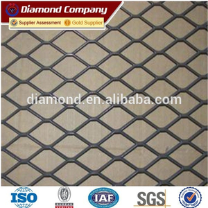 galvanized expanded metal mesh / stretch metal mesh / expanded metal mesh factory