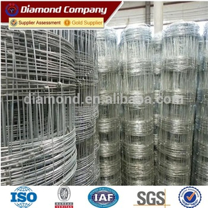 2016 Hot Sale 20 gauge steel Deer Fence Mesh Factory