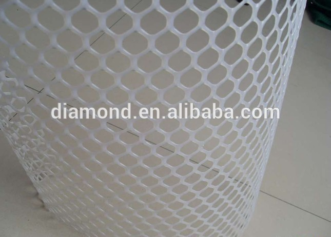 factory factory supply plastic flat mesh Square mesh/High Quality various plastic flat mesh