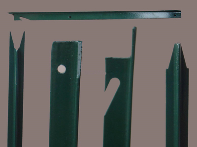 Anping Factory Metal Fence T Profile Studed Post Price
