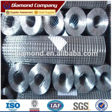 "Hot sale alibaba galvanized welded wire mesh roll / 1/2"" galvanized welded mesh"