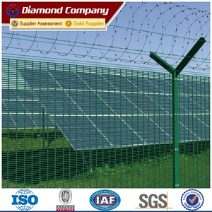 decorative welded panel fence
